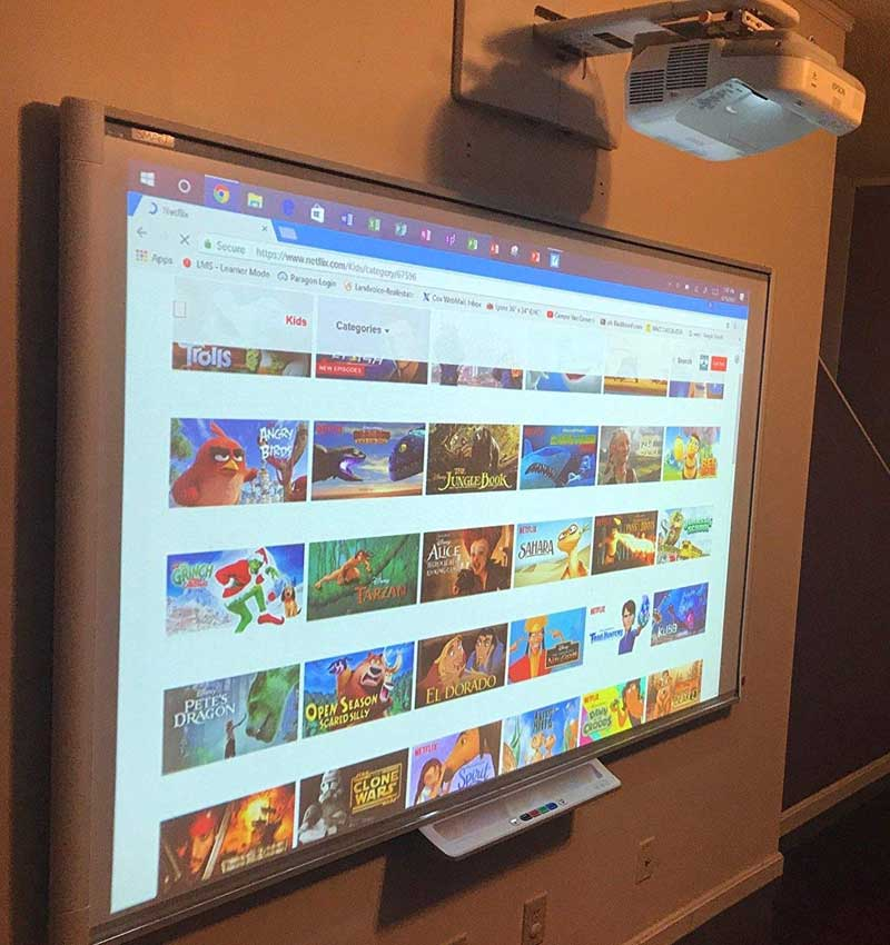 Smart Tech interactive smart board reviews