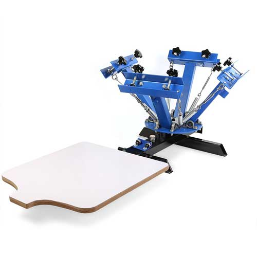 VEVOR 9 in 1 screen printing machine reviews